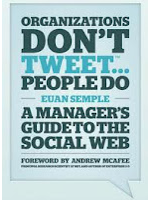 Organizations Don't Tweet, People Do – een persoonlijk review