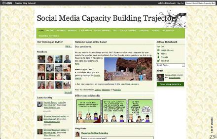 Een blended leertraject: strategisch gebruik van sociale media in netwerken (ETC)
