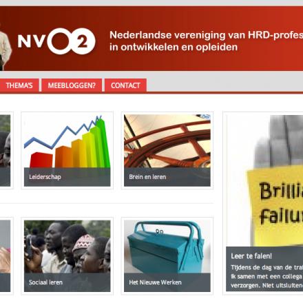Teamblog voor kennisuitwisseling – NVO2