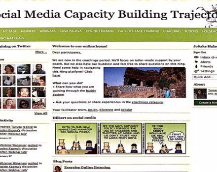 Blended leren: sociale media in netwerken bij ETC